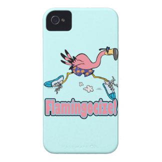 flamingocize el dibujo animado del flamenco que ac iPhone 4 funda