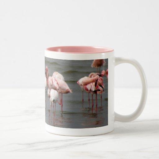 Flamingoes at Lake Nakuru MIRROR Mug