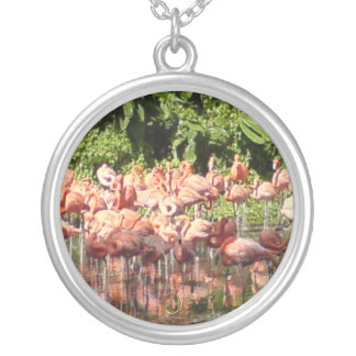 Flamingoes Necklaces