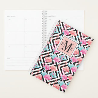 Flamingoes on Bold Design Pattern Planner