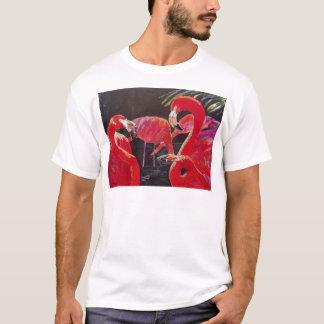 Flamingoes Watercolo r60th T-Shirt
