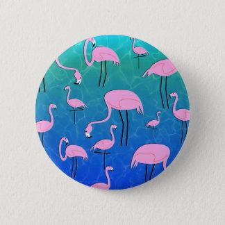 FlamingoPond Pinback Button