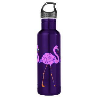 Flamingos 24oz Water Bottle