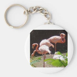 flamingos (2) keychain