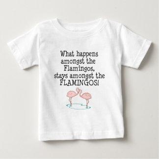 Flamingos Baby T-Shirt