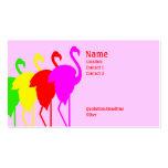 Flamingos Business Cards
