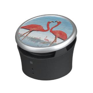 Flamingos courtship - 3D render Bluetooth Speaker