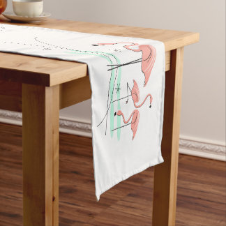 Flamingos Group table runner