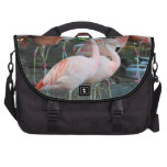 Flamingos in the Park 2 Commuter Bag