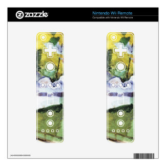 Flamingos in the Zoo by August Macke Nintendo Wii Remote Decal