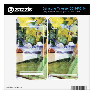Flamingos in the Zoo by August Macke Samsung Finesse Decals