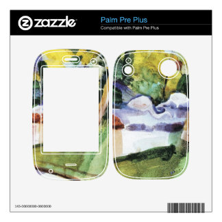 Flamingos in the Zoo by August Macke Skins For Palm Pre Plus