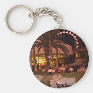 Flamingos, Las Vegas Keychain