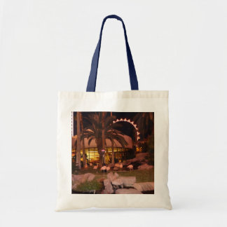 Flamingos, Las Vegas Tote Bag