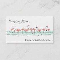Flamingos Line business card