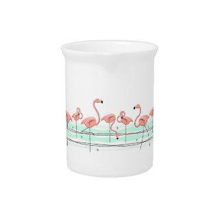 Flamingos Line pitcher