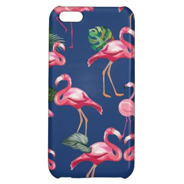 Flamingos Love Pattern 2 Case For iPhone 5C