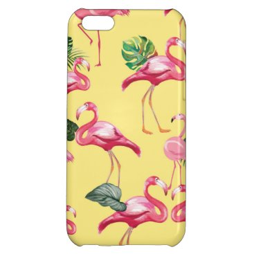 Flamingos Love Pattern 3 Case For iPhone 5C