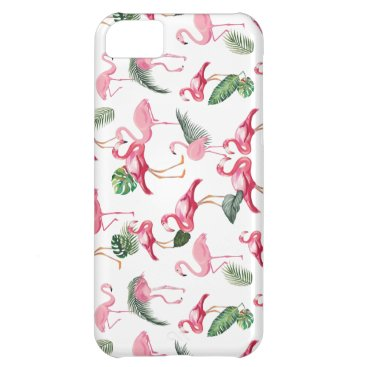 Flamingos Love Pattern Case For iPhone 5C