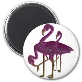 Flamingos Magnet