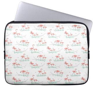 Flamingos Multi laptop sleeve