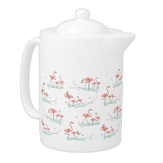 Flamingos Multi teapot