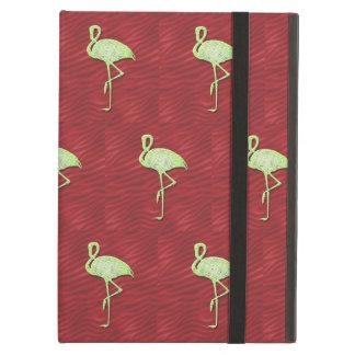 Flamingos pattern iPad air cover