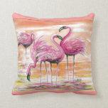 Flamingos- pillow