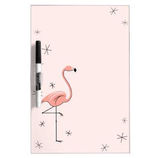 Flamingos Pink dry erase board