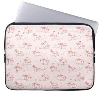Flamingos Pink Multi laptop sleeve