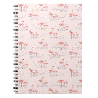 Flamingos Pink Multi notebook