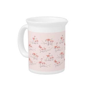 Flamingos Pink Multi pitcher