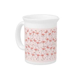 Flamingos Pink pitcher