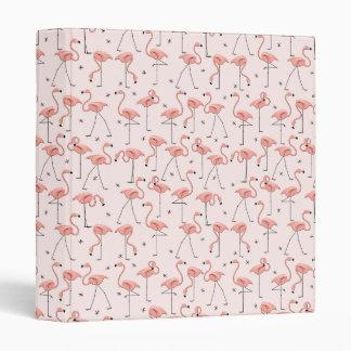 Flamingos Pink ring binder