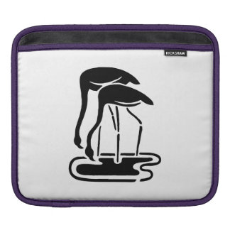 Flamingos Silhouette iPad Sleeve