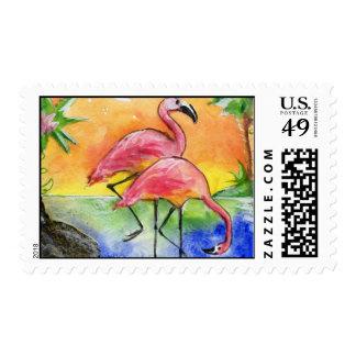 Flamingos Stamps