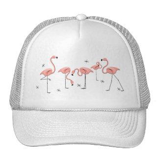 Flamingos Stars group trucker hat