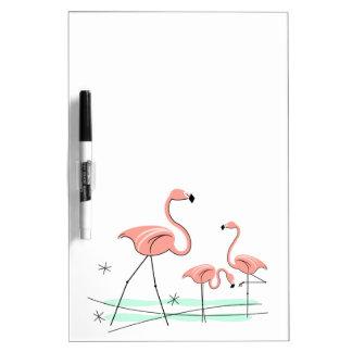 Flamingos Trio 2 dry erase board