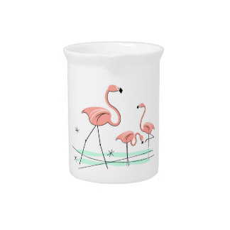 Flamingos Trio 2 pitcher