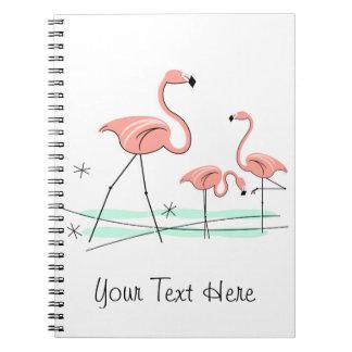 Flamingos Trio 2 Text notebook