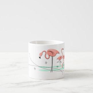 Flamingos Trio 3 espresso mug