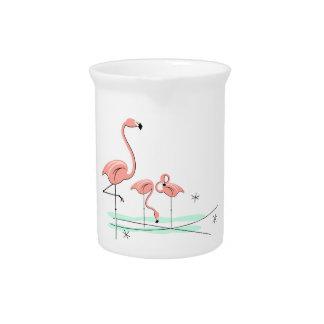 Flamingos Trio 4 pitcher