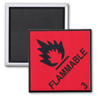 flammable 2 inch square magnet