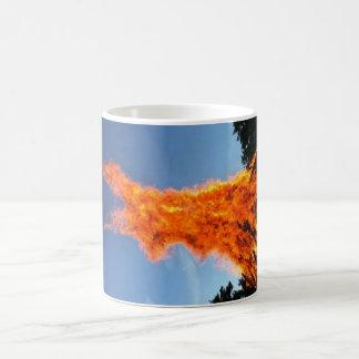 flammable easter rabbit coffee mug