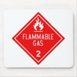 flammable gas mouse pad