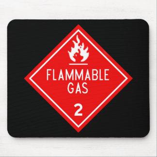 flammable gas mousepad