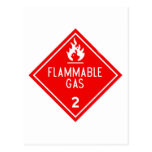 flammable gas postcards
