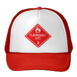 flammable gas trucker hats
