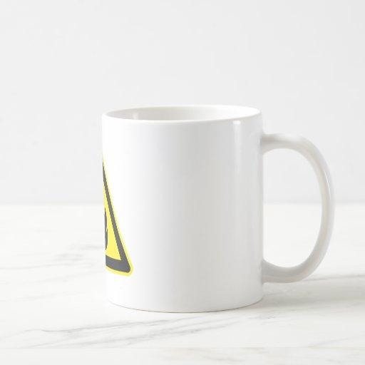Flammable Sign Coffee Mug