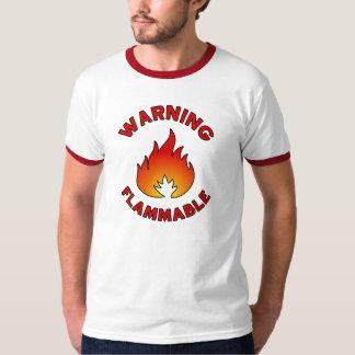 Flammable Warning T-Shirt